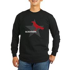 Nevermore Long Sleeve Black T-Shirt