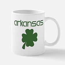 Arkansas shamrock Mug