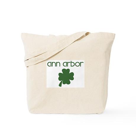 Ann Arbor shamrock Tote Bag