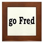 go Fred Framed Tile