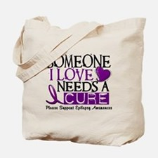 Needs A Cure EPILEPSY Tote Bag