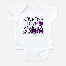 Needs A Cure EPILEPSY Infant Bodysuit