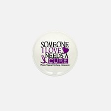 Needs A Cure EPILEPSY Mini Button (10 pack)