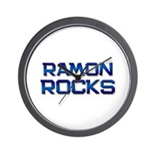 ramon rocks Wall Clock