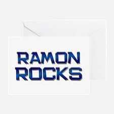 ramon rocks Greeting Card