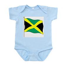 Jamaica Flagpole Infant Creeper