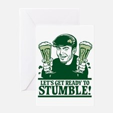 Ready To Stumble! Greeting Card