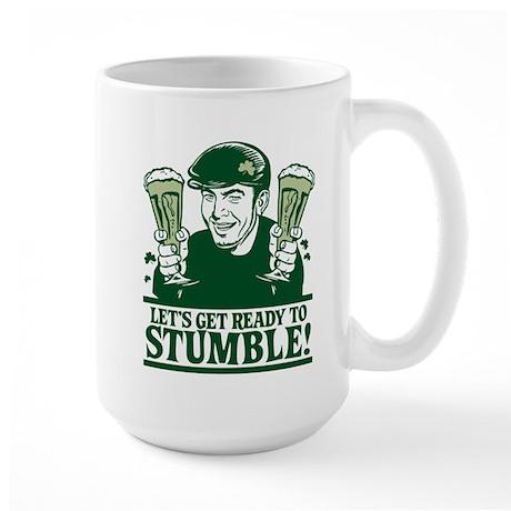 Ready To Stumble! Large Mug