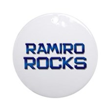ramiro rocks Ornament (Round)