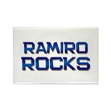 ramiro rocks Rectangle Magnet