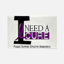 I Need A Cure EPILEPSY Rectangle Magnet