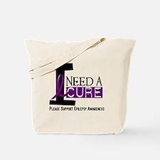 I Need A Cure EPILEPSY Tote Bag