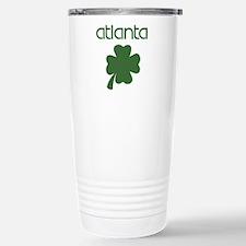 Atlanta shamrock Travel Mug