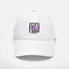 HOPE FAITH CURE Epilepsy Baseball Baseball Cap