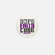 HOPE FAITH CURE Epilepsy Mini Button (10 pack)