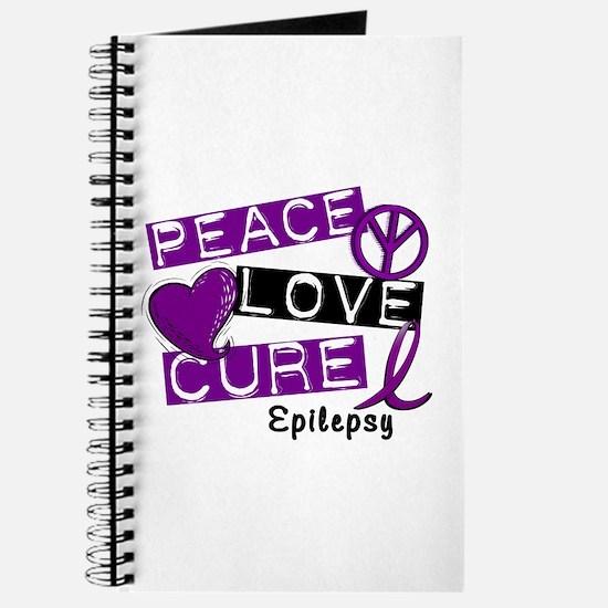 PEACE LOVE CURE Epilepsy (L1) Journal