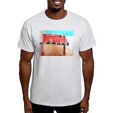 Keon Thomas Ash Grey T-Shirt
