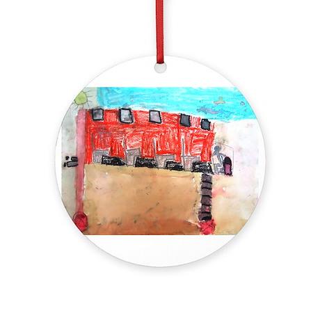 Keon Thomas Ornament (Round)