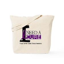 I Need A Cure CROHN'S Tote Bag
