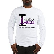 I Need A Cure CROHN'S Long Sleeve T-Shirt