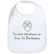 St Barthelemy leprechauns Bib
