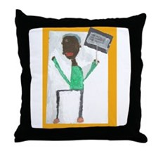 Keon Thomas Throw Pillow
