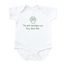West Allis leprechauns Infant Bodysuit