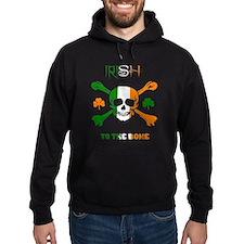 Irish to the bone Hoodie