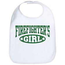 Irish Firefighter's Girl Bib
