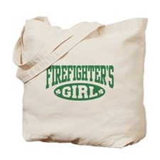 Irish Firefighter's Girl Tote Bag