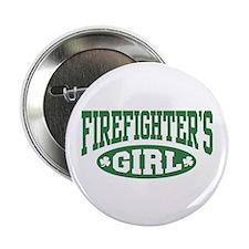 "Irish Firefighter's Girl 2.25"" Button"