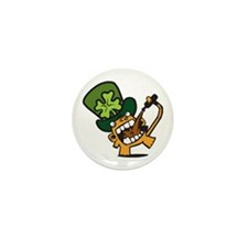 Beer Monkey's St. Patty's DayMini Button (10 pack)