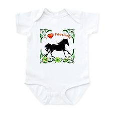 I love Friesians Infant Bodysuit
