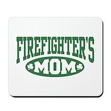 Irish Firefighter's Mom Mousepad