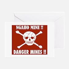Danger Mines, Burundi Greeting Cards (Pk of 10)