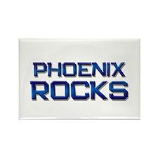 phoenix rocks Rectangle Magnet