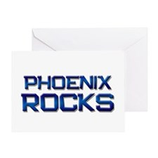 phoenix rocks Greeting Card