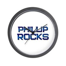 phillip rocks Wall Clock