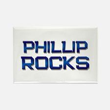 phillip rocks Rectangle Magnet