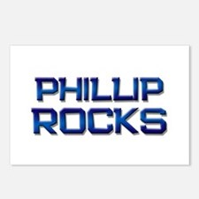 phillip rocks Postcards (Package of 8)