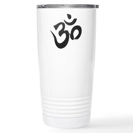 Sanskrit Aum (Om) Stainless Steel Travel Mug