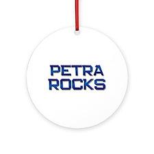 petra rocks Ornament (Round)