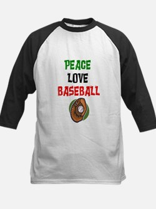 PEACE, LOVE, BASEBALL Kids Baseball Jersey