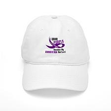 I Wear Purple (Grandfather) 33 PC Baseball Cap