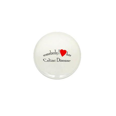 somebody I heart Celiac Dise Mini Button (10 pack)