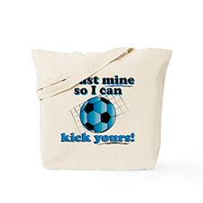 Bust Mine Soccer Tote Bag