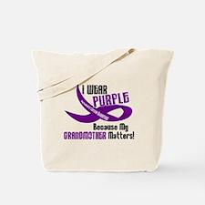 I Wear Purple (Grandmother) 33 PC Tote Bag
