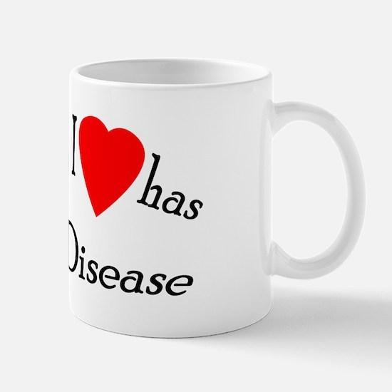 somebody I heart Celiac Dise Mug