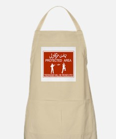 Protected Area, Brunei BBQ Apron