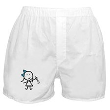 Girl & Oboe Boxer Shorts